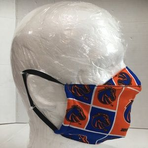 Boise state university Broncos Cotton face cover.